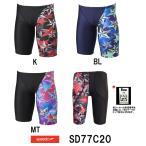 ●●SD77C20 SPEEDO(スピード) メンズ競泳水着 FLEX Σ メンズジャマー6 男性用/競泳/ハーフスパッツ/FINA承認