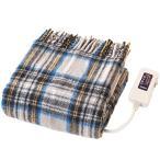 椙山紡織 電気ひざ掛け毛布 140×82cm グレー NA-055H-GT
