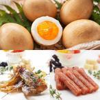 半澤鶏卵 半澤鶏卵の燻製卵スモッち&チキンジャーキー・サラミおつまみセット TW3050243517