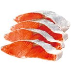 感動いちば 最高級 知床・羅臼昆布仕立て 天然紅鮭切り身 80g×2切れ×4袋 KD190018