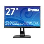 iiyama 27型ワイド液晶ディスプレイ GB2760QSU ブラック GB2760QSU-B1