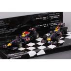 【ミニチャンプス】 1/43 レッドブル  RB7 F1 2011 コンストラクターズ チャンピオン 2台セット ベッテル/ウェーバー ※限定1224台