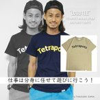 テトラポッツ  ロゴT ロゴTEE サンドカーキTシャツ モンゴル800 モンパチ (テトラポット)Tetrapots LOGO TEE /SAND BEIGE TPT-029