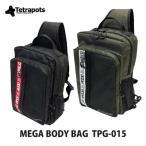 テトラポッツ ショルダーバッグ メガボディバッグ TPG-015モンゴル800 モンパチ (テトラポット)Tetrapots Mega Body Bag TPG-015