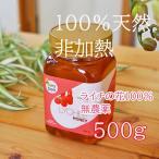 蜂蜜 はちみつ ライチ 天然 純粋 非加熱 500g容器