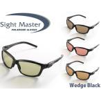 サイトマスター 偏光サングラス ウェッジ ブラック Wedge Black Sight Master ティムコ SIG775121151