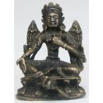 虚空蔵菩薩 豆仏 ブロンズ 密教仏像Bz22