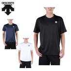 デサント DESCENTE Tシャツ 半袖 メンズ ワンポイント機能Tシャツ DOR-C8406 sw