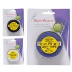 ボウブランド BOW BRAND テニス ウェットタイプ プログリップ 3本巻 25mm×3pcs BOW003