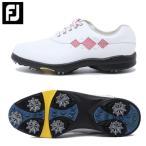 フットジョイ Foot Joy ゴルフシューズ ソフトスパイク ゴルフスパイク レディース Eコンフォート 98508