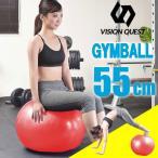 バランスボール 55cm RD VQGBN005 ジムボール ヨガボール 体幹トレーニング ビジョンクエスト VISION QUEST