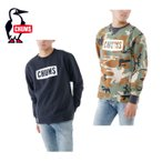 ショッピングチャムス チャムス Boat Logo Crew Top(ボートロゴクルートップ) (CH00-0617) トレッキングウェア スウェット(メンズ)