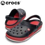 ショッピングサボ クロックス crocs サンダル ユニセックス フロント コート クロッグ BK/RD 14300