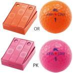 キャスコ KASCO ゴルフボール キラスター KIRA STAR 1ダース 12球