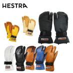 ヘストラ ( HESTRA )  スキーグローブ 3FINGER FULL LEATHER 30872 【15-16 2016モデル】 革グローブ ミトン メンズ レディース 防寒