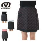 ビジョンクエスト VISION QUEST テニス バドミントン ウェア スコート レディース 防寒巻スコート VQ530320D03
