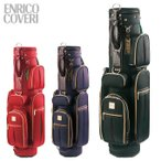エンリコ コベリ ENRICO COVERI ゴルフ メンズ レディース キャディバッグ ECCB-01