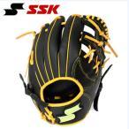 【2015年モデル】 SSK エスエスケイ 軟式グラブ オールラウンド用 ジュニア低学年向け野球用グラブ SMJG5413