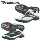 ツアーディビジョン Tour division ゴルフスパイク メンズ メッシュゴルフシューズ スパイクレス 靴 TD230102E03