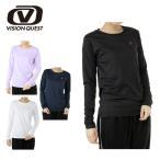 ビジョンクエスト VISION QUEST スポーツウェア 長袖Tシャツ レディース UV機能ロングスリーブTシャツ VQ451202E51