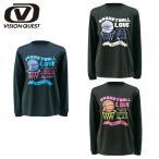ビジョンクエスト VISION QUEST バスケットボール L長袖プリントTシャツ レディース VQ570414E04