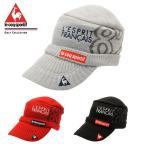 【2015年秋冬モデル】 ルコック アクリルニットワークキャップ (QG0599) ゴルフ帽子(メンズ) 防寒