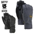 バートン BURTON ウインターアクセサリー メンズ ボードグローブ Approach Under Glove 防寒