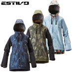 エスティボ ESTIVO スノーボードウェア ジャケット レディース EV SUNNY JKT EVW1524