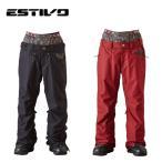 エスティボ ESTIVO スノーボードウェア パンツ レディース EV RUNWAY PNT EVW3522