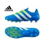 アディダス(adidas) サッカースパイク(メンズ) エース 16.2-ジャパン HG(BL/YL/WH) AF5122  【16SSAD】  【16SADC】