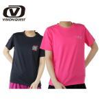 ビジョンクエストVISION QUEST ランニングウェア Tシャツレディース 陸上プリント半袖Tシャツ VQ561012F02