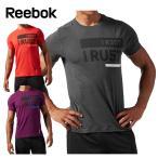 リーボック(Reebok) 機能ウェア Tシャツ(メンズ) ワンシリーズ トリブレンド グラフィック ショートスリーブTシャツ AQE85