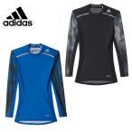 【クリアランス】 アディダス adidas 長袖 アンダーシャツ アンダーウェア メンズ テックフィット CHILL グラフィックロングスリーブ LOZ67