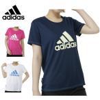 アディダス(adidas) 機能ウェア Tシャツ(レディース) Team ビッグロゴTシャツ 半袖 BIJ93 【16SADC】