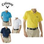 キャロウェイ Callaway ゴルフウェア 半袖ポロシャツ メンズ ブラジルモノグラムプリント半袖ポロ 241-6157523