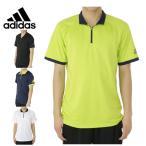 アディダス(adidas) 機能ウェア ハーフジップ半袖シャツ(メンズ) BWL44
