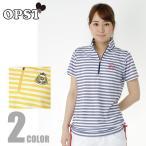 オプスト OPST ゴルフウェア レディース BD半袖チュニックシャツ OP220301F11