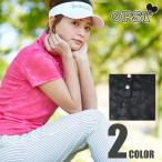 オプスト OPST  ゴルフウェア レディース 花柄JQ半袖ボタンダウンシャツ OP220301F02