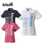 ショッピングキットソン キットソン KITSON ゴルフウェア レディース ビッグロゴ半袖シャツ 0362131