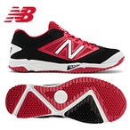 ニューバランス T4040BR3 トレーニングシューズ BLACK RED T4040BR3D 27.5cm