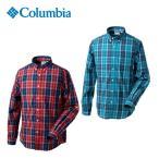 コロンビア(Columbia) トレッキング 長袖シャツ(メンズ) モーニングフレッシュシャツ PM7961