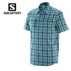 サロモン(salomon) アウトドア 半袖シャツ メンズ JPローヤンショートスリーブシャツ L38175100