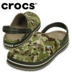 クロックス crocs サンダル ユニセックス クロックバンド カモ クロッグ 203191