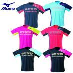 ミズノ MIZUNO テニス バドミントン ウェア ロゴTシャツ メンズ レディース 62JA6Z08