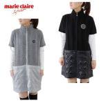 マリ クレール ( marie claire ) ゴルフ ( レディース ) 異素材MIXワンピース 736-713