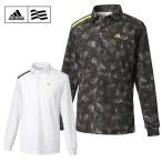 【クリアランス】 アディダス adidas ゴルフ 長袖ポロシャツ メンズ JP CP ジオプリント L/S ポロ CCI30