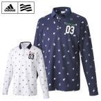 【クリアランス】 アディダス adidas ゴルフ 長袖ポロシャツ メンズ JP SPモノグラムL/Sポロ CCI52