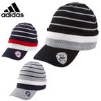 アディダス adidas ゴルフ ニット帽 メンズ SP バイザーニットキャップ CCJ06 A05129 A05130 A05132