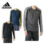 【クリアランス】 アディダス adidas スポーツウェア メンズ ESSENTIALS 3ストライプス 長袖Tシャツ BV969