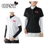 オプスト OPST ゴルフ セットポロシャツ レディース ドット柄アンダーセットシャツ OP220411F02